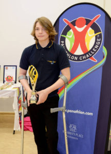 Panathlon 30.06.17 Keighley. Thomas Green Outstanding Achievement Award.