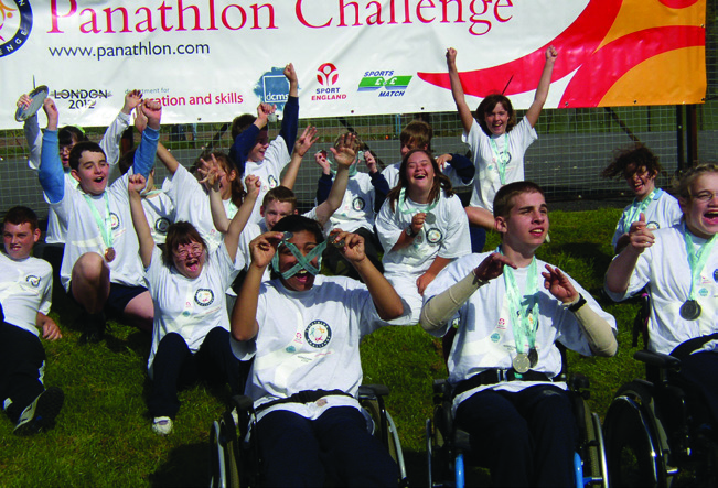 London Wide Final for disabled young People