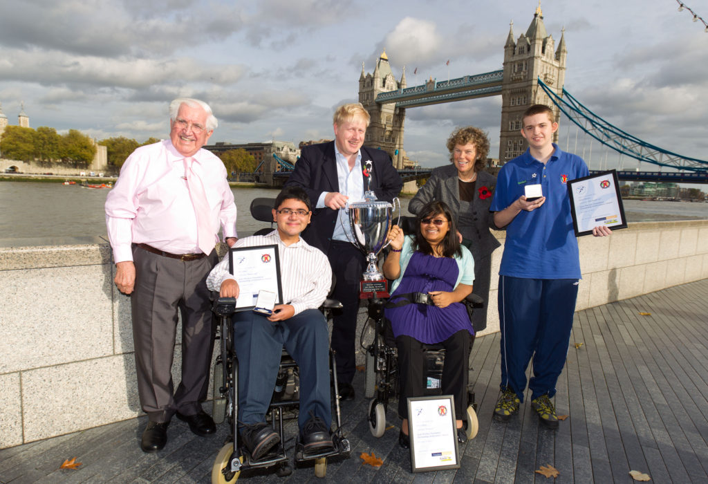 Boris Johnson awards Outstanding Achiever Awards in London
