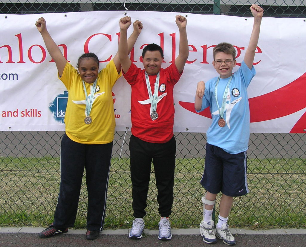 Disabled young people competitions only