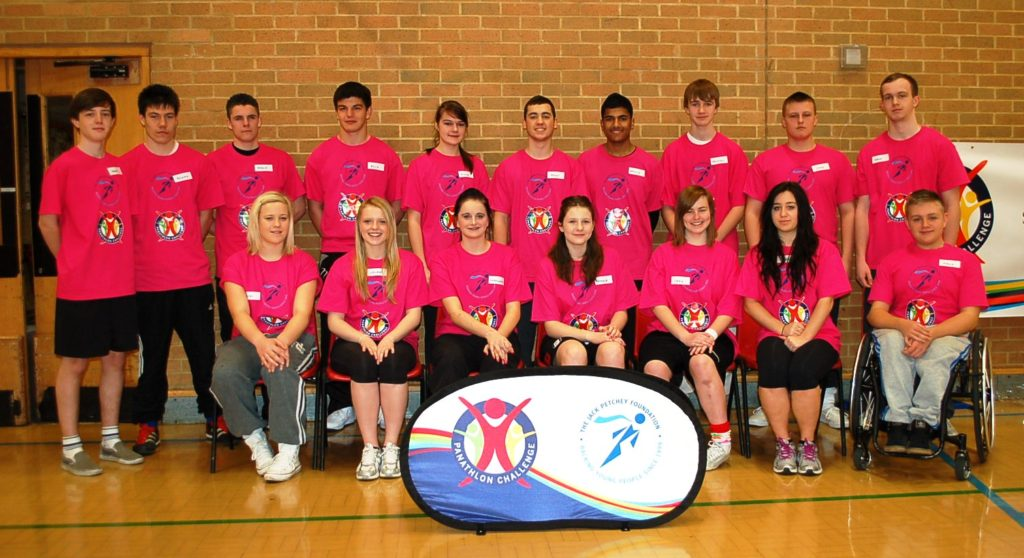 Young Leaders at Panathlon for the first time