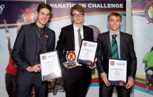 Panathlon Young Leaders of the Year from Great Baddow High School