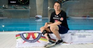 Panathlon Johnson poolside