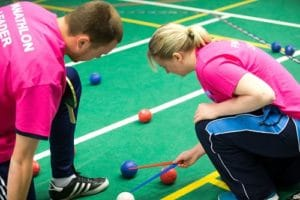 Panathlon Challenge West Final (Cup & Plate) - St. Mary's University College - Twickenham - London - 16/03/2015 - Licensed to Panathlon for all PR use. © Andrew Fosker / Seconds Left Images 2015