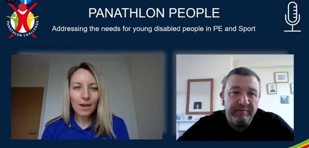 Panathlon People podcast